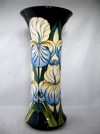 OTHER MOORCROFT. Inviting Iris vase 6176