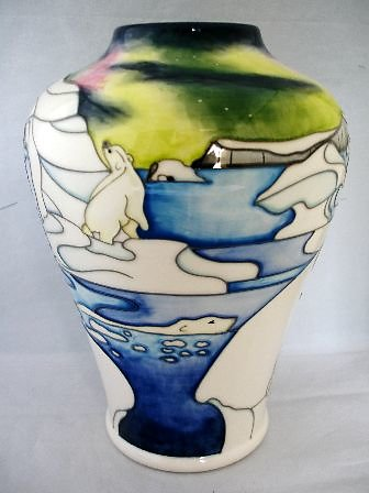 SPECIAL COLLECTION SERIES. Northern Lights vase 6231