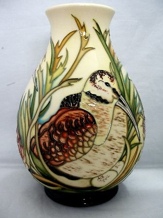 CATALOGUE LIMITED EDITIONS. Woodcock Nest vase 6544