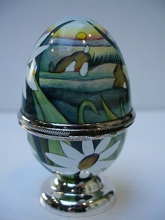 The Meadow Enamel egg 6653